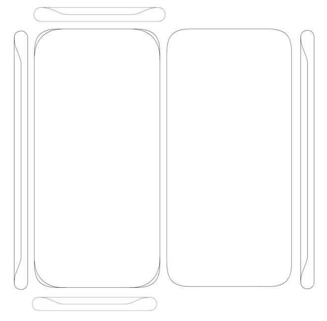 Samsung được cấp bằng sáng chế cho thiết kế màn hình không viền cong bốn cạnh - Ảnh 1.