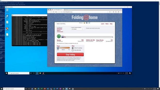 Chính người dùng Windows 10 cũng có thể chung tay chống dịch Covid-19 - Ảnh 2.