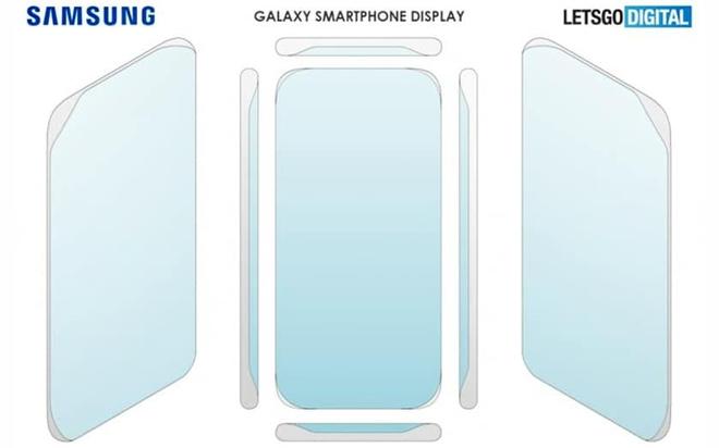 Samsung được cấp bằng sáng chế cho thiết kế màn hình không viền cong bốn cạnh - Ảnh 2.