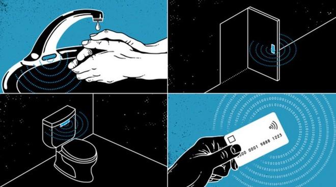 Đại dịch Covid-19 thúc đẩy công nghệ không chạm, hứa hẹn sẽ là biện pháp chống dịch hiệu quả trong tương lai - Ảnh 2.