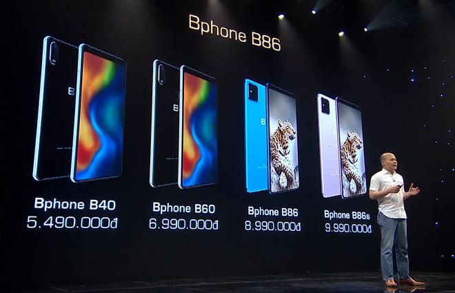 Bphone B86 ra mắt: Thiết kế không phím bấm, tích hợp camera kép và CPU tầm trung, giá bán từ 8,99 triệu đồng - Ảnh 2.
