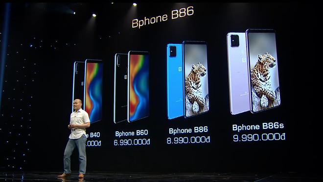 BKAV ra mắt Bphone B60 & B40: Bản rút gọn của B86, giá từ 5.49 triệu đồng - Ảnh 1.