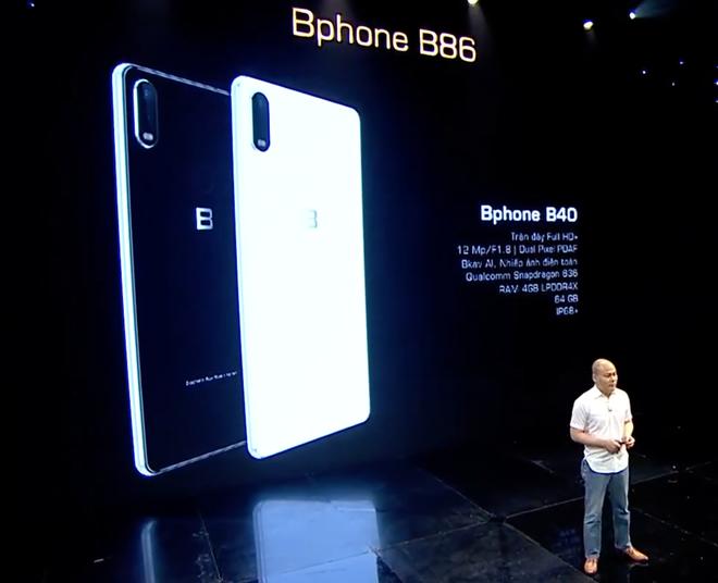 BKAV ra mắt Bphone B60 & B40: Bản rút gọn của B86, giá từ 5.49 triệu đồng - Ảnh 2.