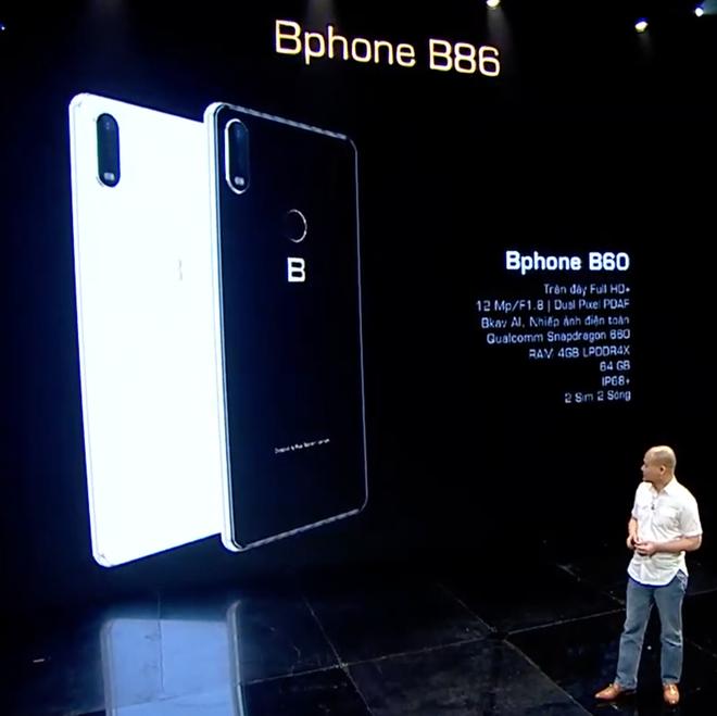 BKAV ra mắt Bphone B60 & B40: Bản rút gọn của B86, giá từ 5.49 triệu đồng - Ảnh 3.