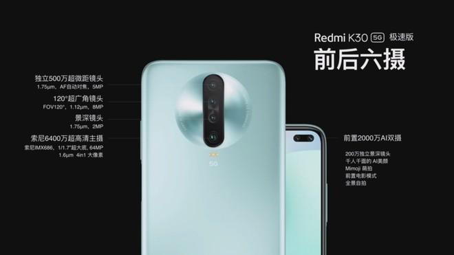 Redmi K30 5G Racing Edition ra mắt: Smartphone đầu tiên với chip Snapdragon 768G - Ảnh 2.