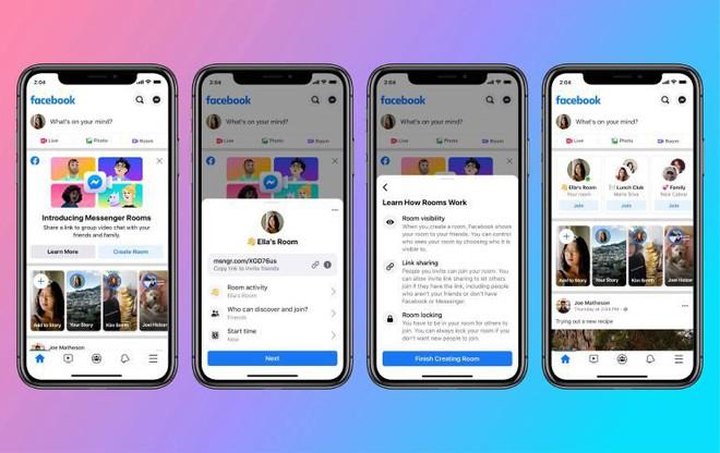 Facebook Messenger Rooms chính thức ra mắt cho tất cả người dùng web và mobile, hỗ trợ họp trực tuyến lên tới 50 người, nhiều tính năng tuyệt vời hơn cả Zoom - Ảnh 3.