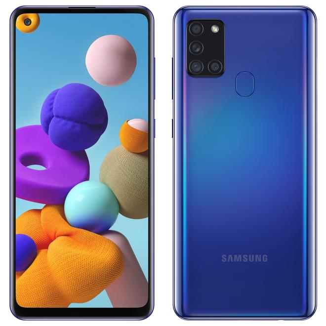 Samsung ra mắt Galaxy A21s: 4 camera sau 48MP, pin 5000mAh, giá từ 5.1 triệu đồng - Ảnh 1.
