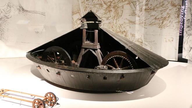 Những phát minh thể hiện trí tuệ siêu phàm của Leonardo da Vinci - Ảnh 4.