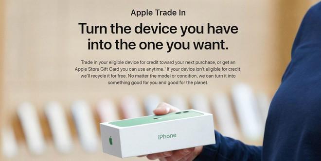 Apple ra mắt chương trình đổi máy cũ lấy iPhone mới, nhưng định giá máy Android thấp không thể tưởng tượng nổi - Ảnh 1.