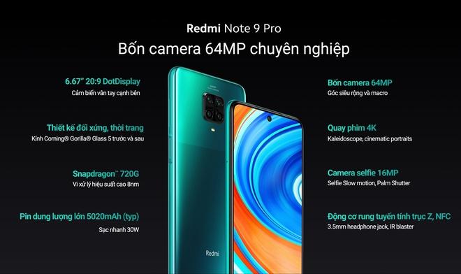 Redmi Note 9 và Redmi Note 9 Pro ra mắt tại Việt Nam: Màn hình đục lỗ, 4 camera, giá từ 3.99 triệu đồng - Ảnh 2.