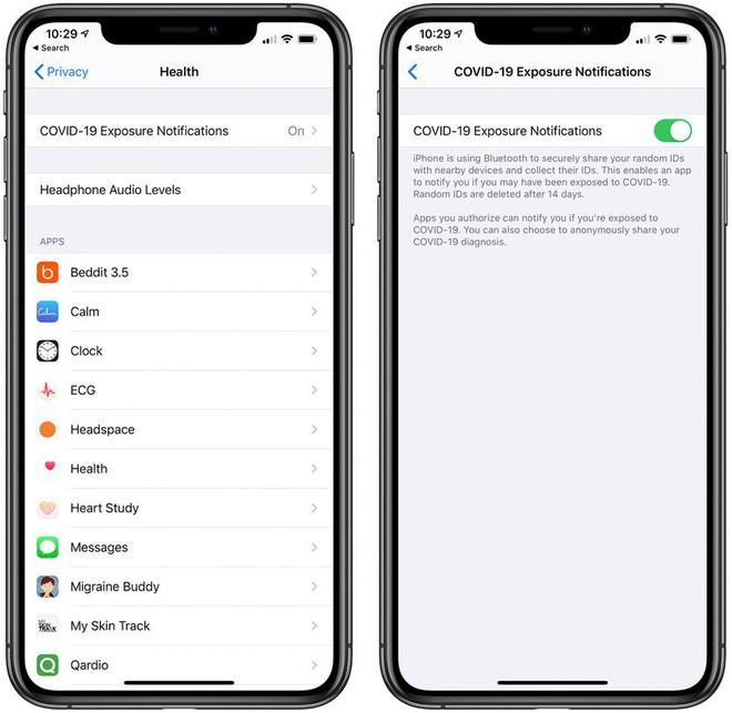 iOS 13.5 chính thức: Phát hiện phơi nhiễm COVID-19, mở khóa iPhone dễ hơn khi đeo khẩu trang - Ảnh 1.
