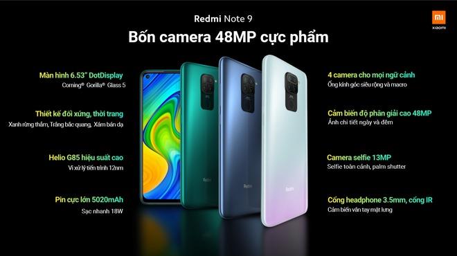 Redmi Note 9 và Redmi Note 9 Pro ra mắt tại Việt Nam: Màn hình đục lỗ, 4 camera, giá từ 3.99 triệu đồng - Ảnh 4.