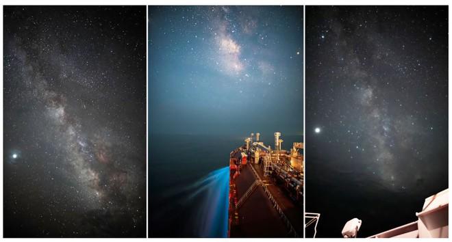 Theo đuổi đam mê chụp ảnh thiên văn trên tàu chở hàng giữa biển khơi bao la - Ảnh 1.