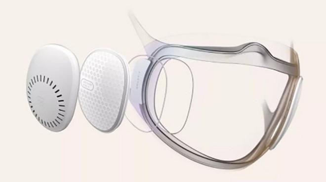 Khẩu trang tự khử trùng Amazfit Aeri, hỗ trợ mở khóa smartphone bằng khuôn mặt ngay cả khi đeo khẩu trang - Ảnh 3.