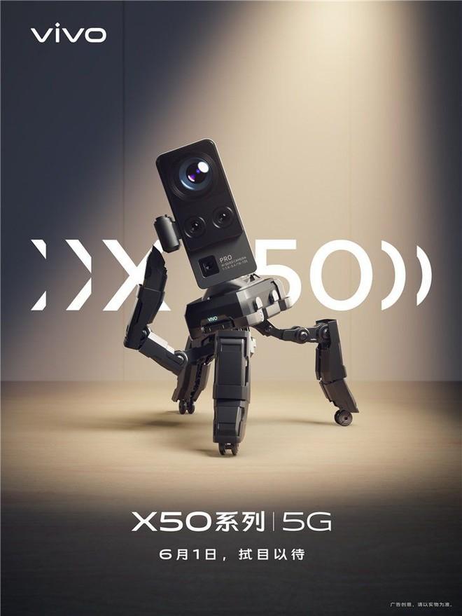 Vivo nhá hàng smartphone flagship có camera sau siêu to, ống kính tiềm vọng, chống rung cực khủng như dùng gimbal - Ảnh 3.