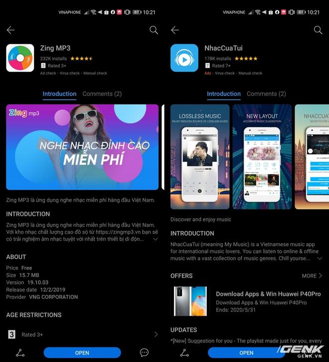 Cuộc sống với một chiếc smartphone không có Google (P1): AppGallery có đủ tốt để từ bỏ Play Store? - Ảnh 13.