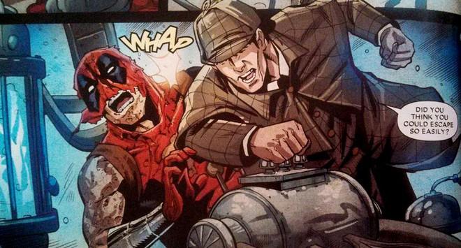 Có thể bạn chưa biết: Thám tử lừng danh Sherlock Holmes từng ngăn chặn Deadpool hủy hoại vũ trụ Marvel - Ảnh 1.