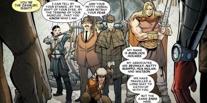 Có thể bạn chưa biết: Thám tử lừng danh Sherlock Holmes từng ngăn chặn Deadpool hủy hoại vũ trụ Marvel - Ảnh 3.