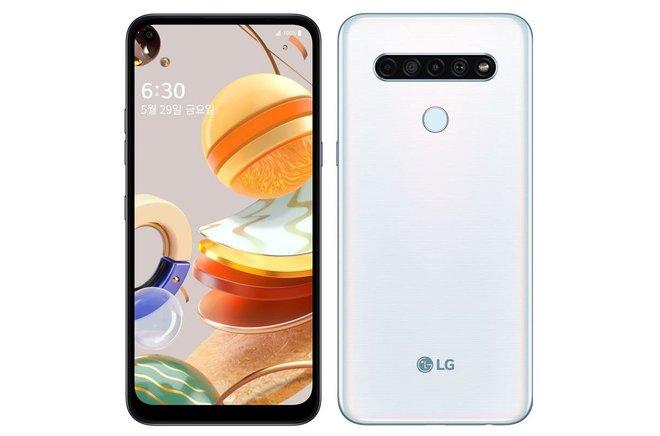 LG Q61 ra mắt: Màn hình nốt ruồi, 4 camera 48MP, Helio P35, pin 4000mAh, giá 7 triệu - Ảnh 1.