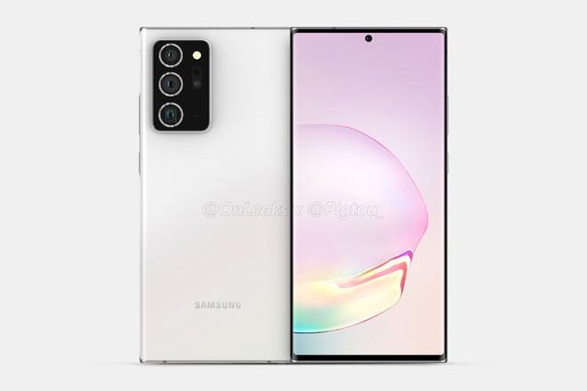 Samsung Galaxy Note 20+ 5G lộ thiết kế hoàn chỉnh - Ảnh 2.
