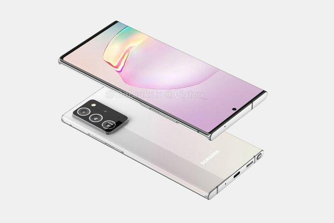 Samsung Galaxy Note 20+ 5G lộ thiết kế hoàn chỉnh - Ảnh 4.