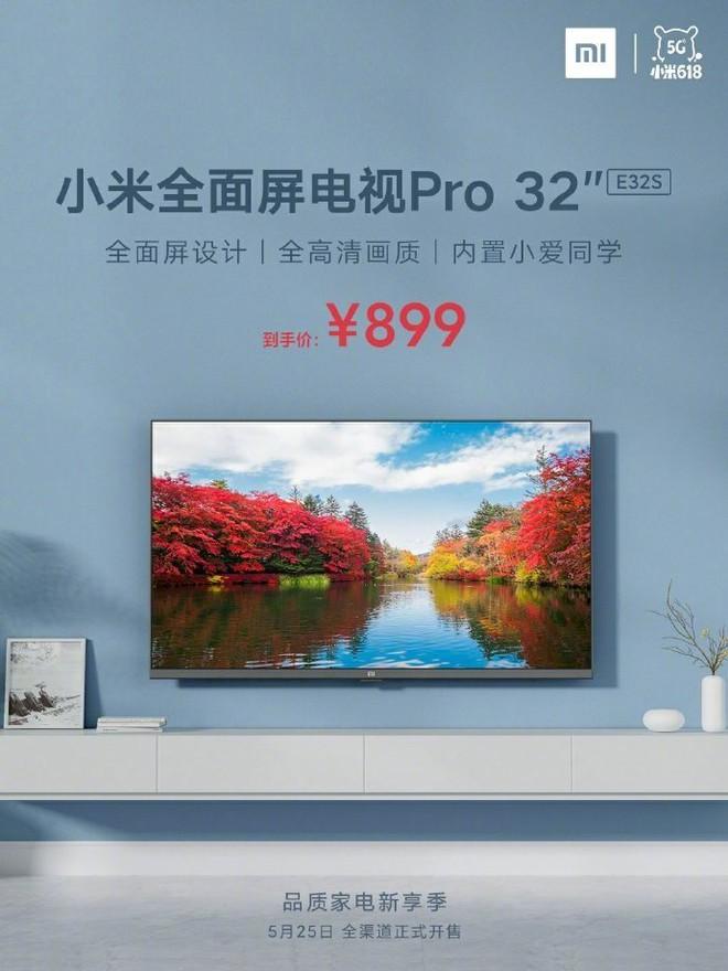 Xiaomi ra mắt TV 32 inch Full HD không viền, giá chỉ 2.9 triệu đồng - Ảnh 2.