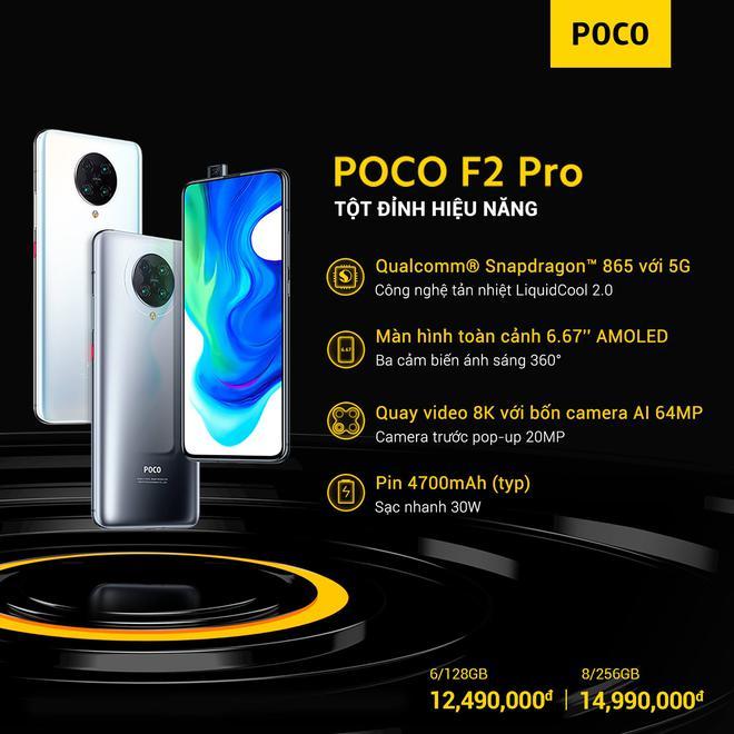 POCO F2 Pro ra mắt tại VN: Snapdragon 865, tản nhiệt buồng hơi, 4 camera 64MP, giá từ 12.49 triệu đồng - Ảnh 4.