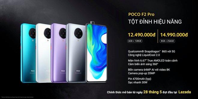 POCO F2 Pro ra mắt tại VN: Snapdragon 865, tản nhiệt buồng hơi, 4 camera 64MP, giá từ 12.49 triệu đồng - Ảnh 5.