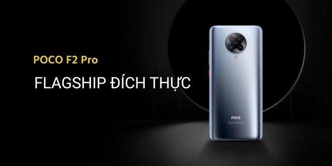 POCO F2 Pro ra mắt tại VN: Snapdragon 865, tản nhiệt buồng hơi, 4 camera 64MP, giá từ 12.49 triệu đồng - Ảnh 1.