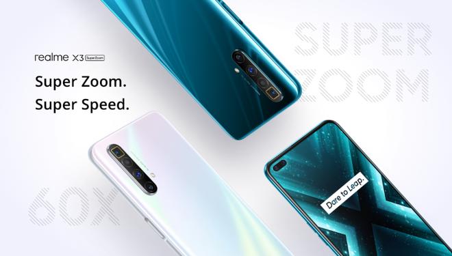 Realme X3 SuperZoom ra mắt: Màn hình 120Hz, Snapdragon 855+, camera zoom 60x, giá 12.8 triệu đồng - Ảnh 1.