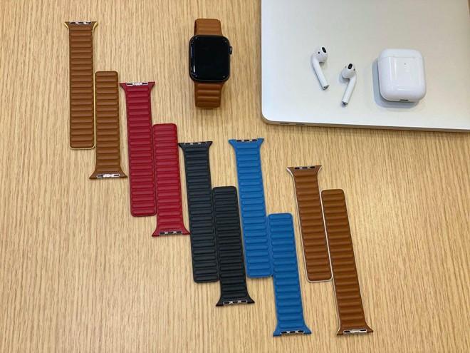 """Lộ hình ảnh dây đeo """"nổi gân"""" mới của Apple Watch - Ảnh 2."""