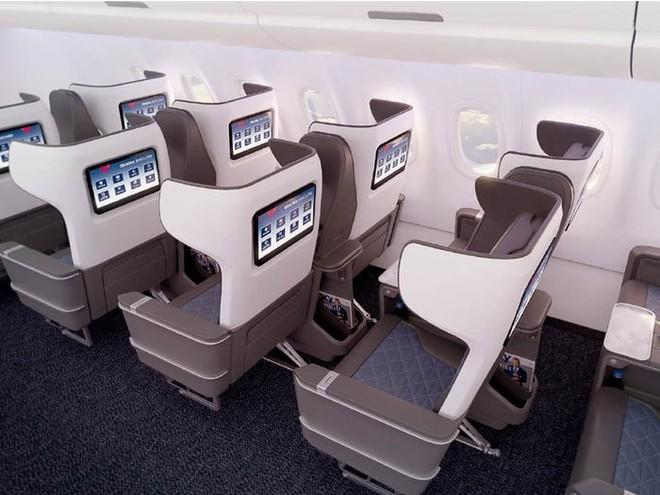 Giải pháp mới cho các hãng hàng không mùa Covid-19: Xếp ghế ngồi theo kiểu giở đầu đuôi để hạn chế hành khách tiếp xúc gần - Ảnh 13.