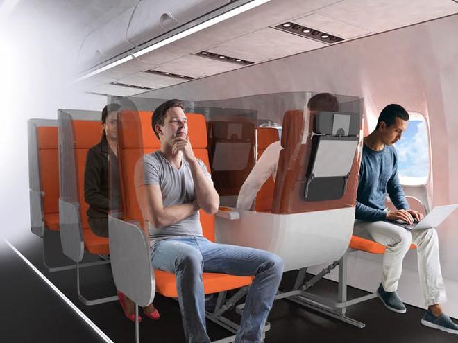 Giải pháp mới cho các hãng hàng không mùa Covid-19: Xếp ghế ngồi theo kiểu giở đầu đuôi để hạn chế hành khách tiếp xúc gần - Ảnh 12.