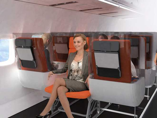 Giải pháp mới cho các hãng hàng không mùa Covid-19: Xếp ghế ngồi theo kiểu giở đầu đuôi để hạn chế hành khách tiếp xúc gần - Ảnh 5.