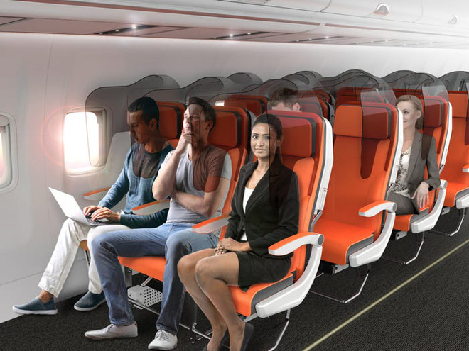 Giải pháp mới cho các hãng hàng không mùa Covid-19: Xếp ghế ngồi theo kiểu giở đầu đuôi để hạn chế hành khách tiếp xúc gần - Ảnh 9.