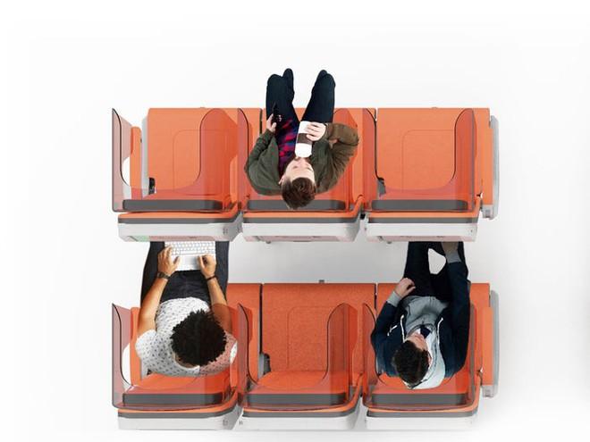 Giải pháp mới cho các hãng hàng không mùa Covid-19: Xếp ghế ngồi theo kiểu giở đầu đuôi để hạn chế hành khách tiếp xúc gần - Ảnh 11.