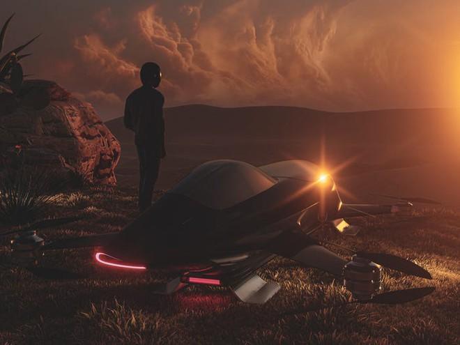 Giải đua xe bay đầu tiên thế giới sắp thành hiện thực: Diễn ra cuối 2020, dùng mẫu xe như trong phim viễn tưởng này để thi đấu - Ảnh 10.