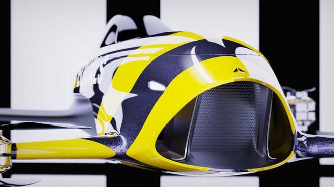 Giải đua xe bay đầu tiên thế giới sắp thành hiện thực: Diễn ra cuối 2020, dùng mẫu xe như trong phim viễn tưởng này để thi đấu - Ảnh 12.
