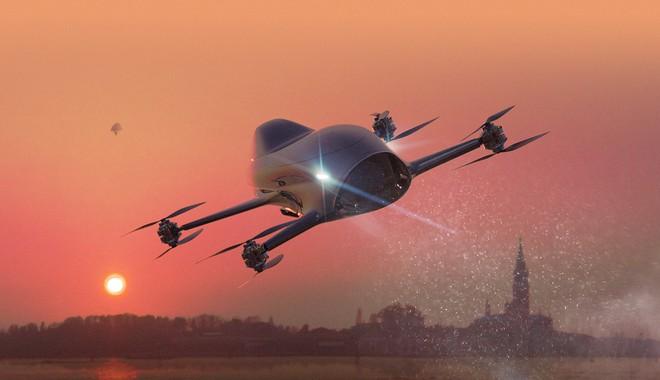 Giải đua xe bay đầu tiên thế giới sắp thành hiện thực: Diễn ra cuối 2020, dùng mẫu xe như trong phim viễn tưởng này để thi đấu - Ảnh 1.