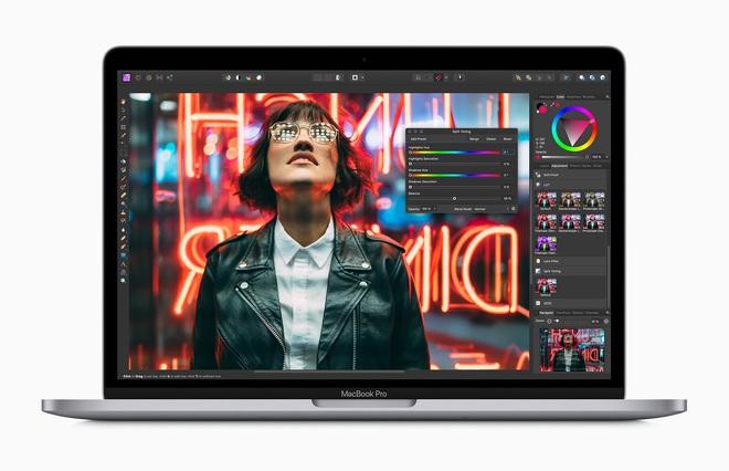 Apple ra mắt MacBook Pro 13 mới: Bàn phím Magic Keyboard bền hơn, chip Intel Core thế hệ 10, giá không đổi - Ảnh 1.