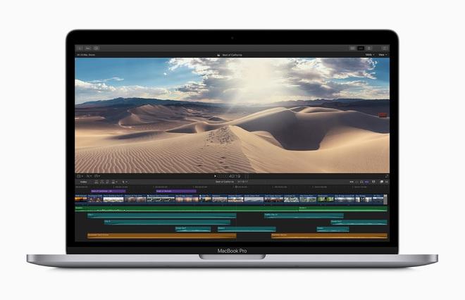 Apple ra mắt MacBook Pro 13 mới: Bàn phím Magic Keyboard bền hơn, chip Intel Core thế hệ 10, giá không đổi - Ảnh 3.