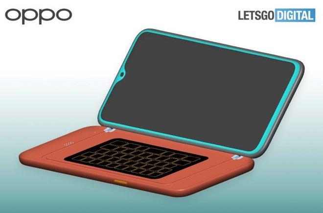 Sáng chế mới tiết lộ OPPO sắp ra mắt phụ kiện bàn phím QWERTY cho smartphone - Ảnh 1.