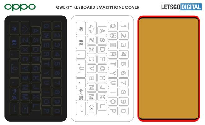 Sáng chế mới tiết lộ OPPO sắp ra mắt phụ kiện bàn phím QWERTY cho smartphone - Ảnh 3.