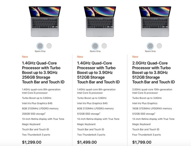 Apple ra mắt MacBook Pro 13 mới: Bàn phím Magic Keyboard bền hơn, chip Intel Core thế hệ 10, giá không đổi - Ảnh 4.