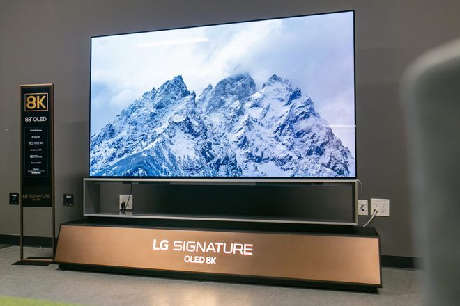 LG ra mắt TV OLED độ phân giải 8K lớn nhất thế giới - Ảnh 2.