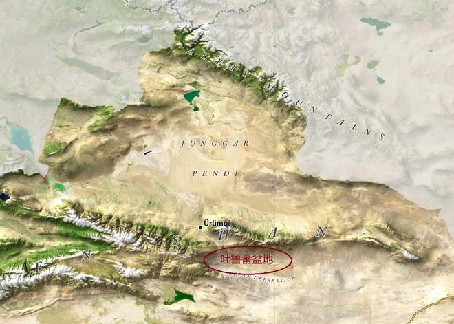 Vì sao thấp hơn mực nước biển nhưng lưu vực Turpan lại không hề có những hồ nước lớn? - Ảnh 1.