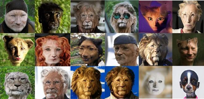 Đây là hệ thống AI có thể biến người thành động vật và ngược lại - Ảnh 3.