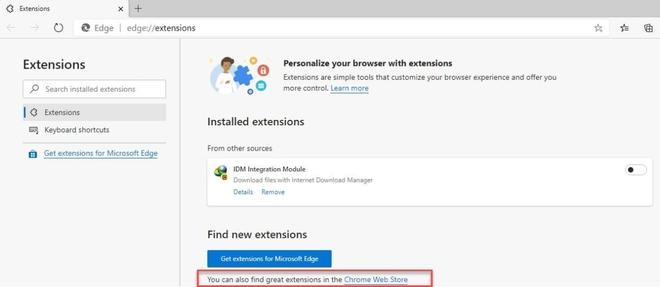 Microsoft chấp nhận thực tại, khuyên người dùng Edge dùng add-on trên Chrome Web Store - Ảnh 1.
