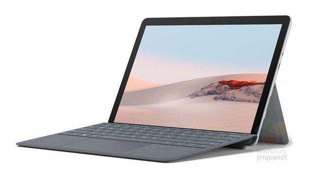 Surface Go 2 lộ ảnh render cùng thông số phần cứng