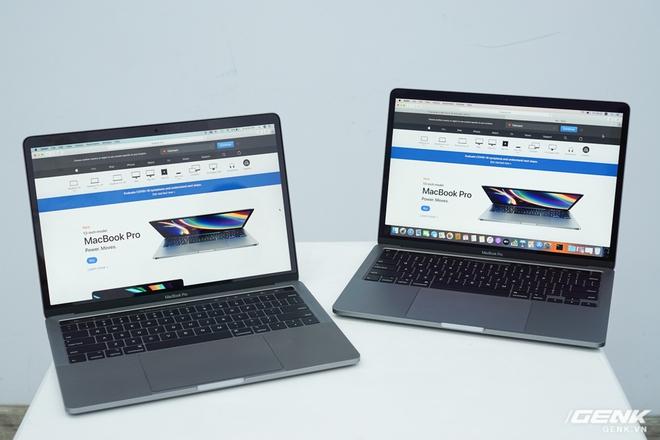 Cận cảnh MacBook Pro 13 2020 tại Việt Nam: Bàn phím Magic Keyboard mới, chưa có Intel Core i thế hệ 10, kích thước tương đương bản 2019, giá còn khá cao - Ảnh 9.